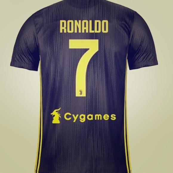 competitive price 77b5b 112b4 Cristiano Ronaldo juventus Away Jersey 2018 NWT